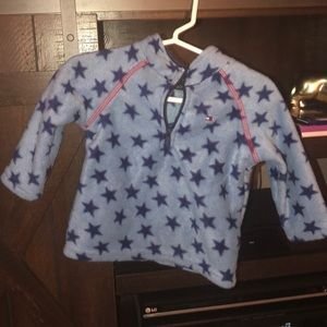 Tommy Hilfiger Star Half Zip Fleece 6-9 months